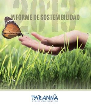 taranna de informe sostenibilidad 2013