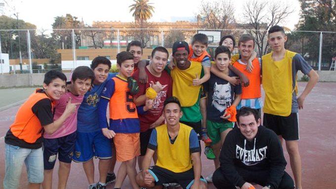Viaje de voluntariado en Argentina. Deporte en Buenos Aires