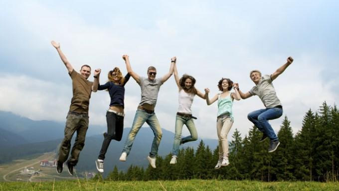 Turismo sostenible en grupo