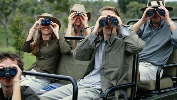 Turismo sostenible África en grupo